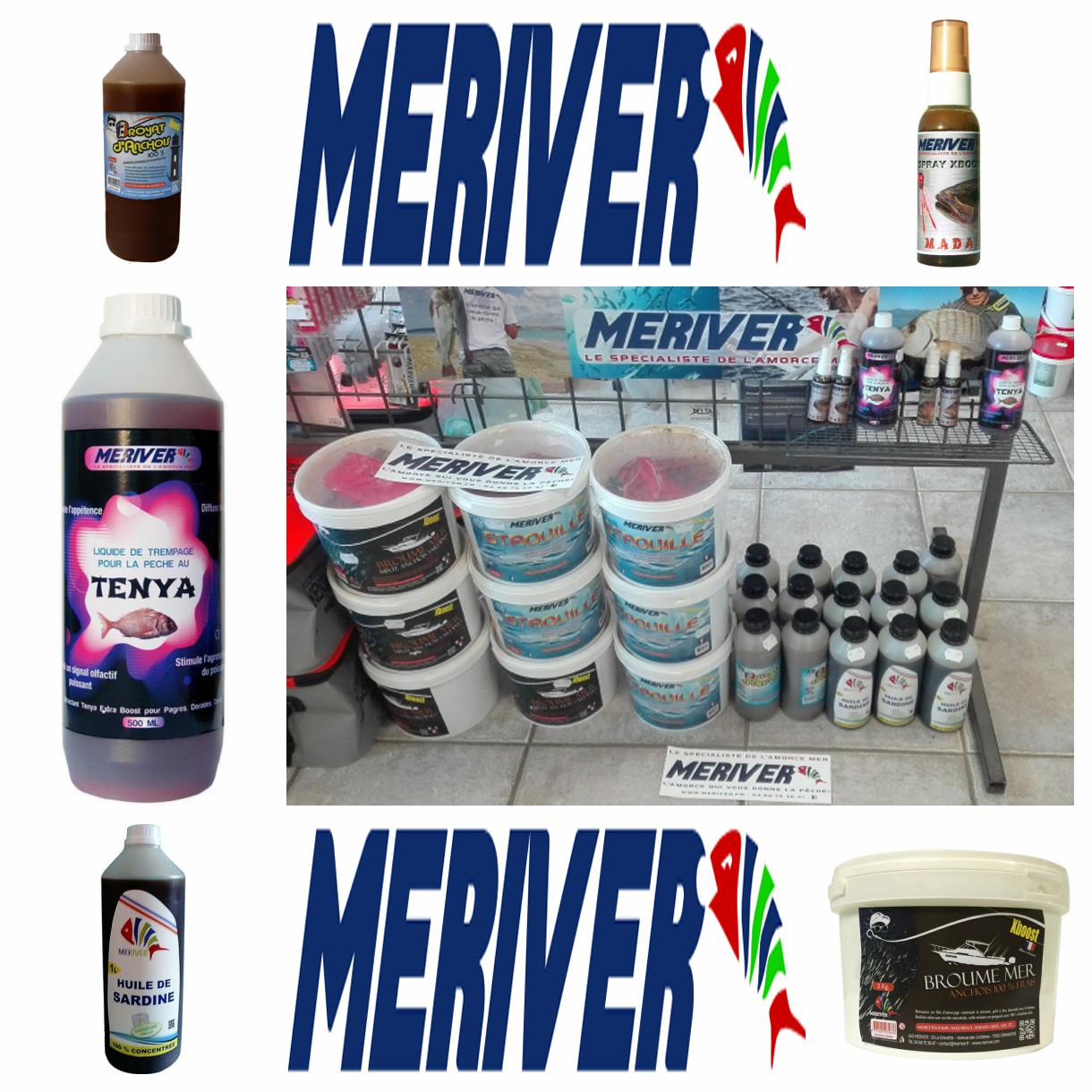 Arrivage attractants Meriver